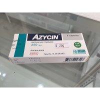 【ネット最安値宣言】アジスロマイシン(AZYCIN)250mg/6錠×1箱