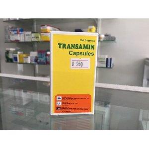 画像1: トランサミン・カプセル(Transamin Capsules)100錠×1ボトル
