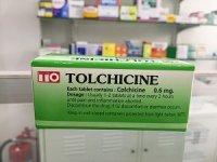 コルヒチン 0.6mg(TOLCHICINE)100錠×1箱※1回発送